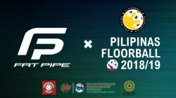 FAT PIPE is the official Pilipinas Floorball equipment partner